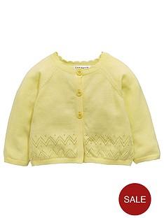 ladybird-baby-girls-cardigan-ndash-yellow