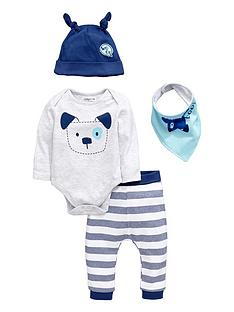 ladybird-baby-boys-puppy-dog-layette-set-4-piece