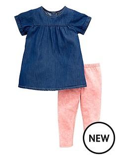 mini-v-by-very-girls-chambray-tunic-and-leggings-set