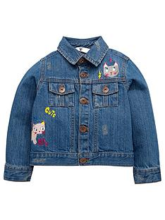 mini-v-by-very-toddler-girls-badged-denim-jacket
