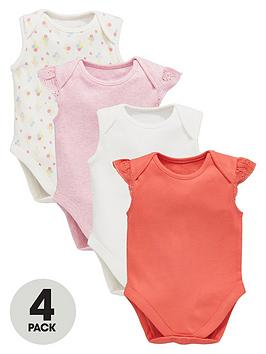 Ladybird Baby Girls Bodysuit Set (4Pack)
