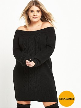 ri-plus-knitted-cable-dress