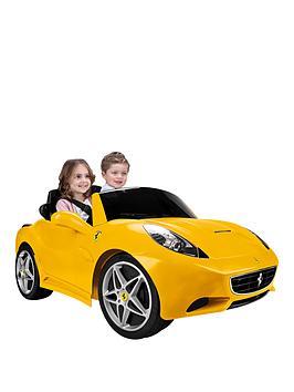 Feber Ferrari California 12V Battery RideOn