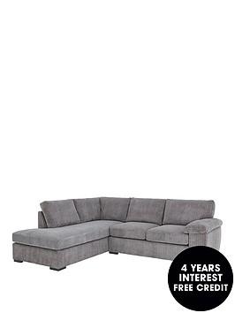 amalfinbspleft-hand-fabric-corner-chaise-sofa