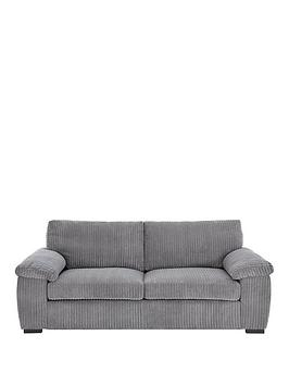 Very Amalfi 3-Seater Standard Back Fabric Sofa Picture