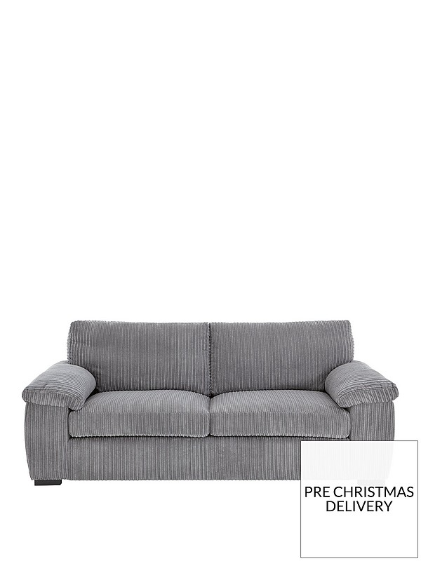 Amalfi 3-Seater Standard Back Fabric Sofa