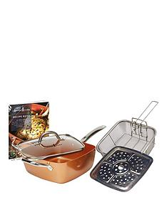 copper-chef-non--stick-square-pan-5-piece