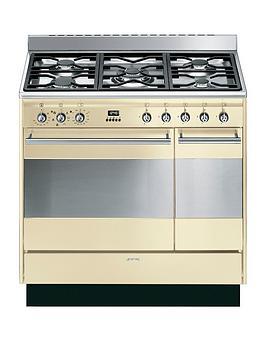 smeg-suk92p9-1-90cmnbspdouble-oven-dual-fuel-concert-range-cookernbsp