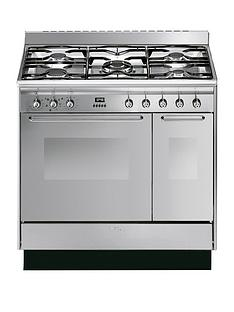 smeg-cc92mx9-90cm-dual-fuel-double-oven-range-cooker-with-gas-hob