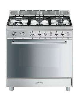 Smeg C9Gvxi9 90Cm Single Oven Gas Range Cooker