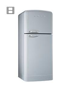 smeg-fab50x-80cm-retro-style-frost-free-fridge-freezer-silver