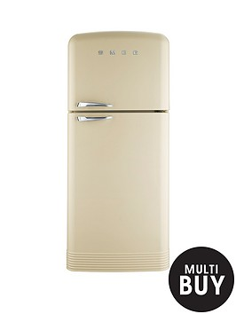 smeg-fab50p-80cm-retro-style-frost-free-fridge-freezer-cream