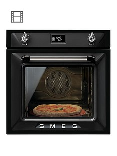 smeg-sfp6925npze-60cmnbspbuilt-in-single-electricnbspoven-black
