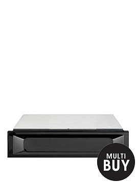 smeg-ctp9015n-15cm-built-in-warming-drawer-black
