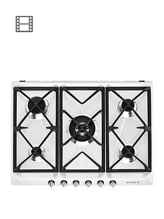 smeg-sr975bgh-70cm-built-in-5-burner-gas-hob-white