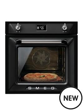 smeg-sf6922npze-60cm-built-in-single-electric-oven-black