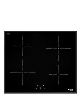 Smeg Si5641B 60Cm BuiltIn Touch Control Induction Hob