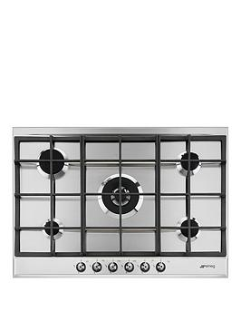 smeg-p372xgh-70cm-built-in-classic-gas-hob-with-rapid-burner