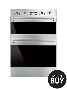 smeg-dosf634x-60cm-built-in-classic-multifunction-double-oven