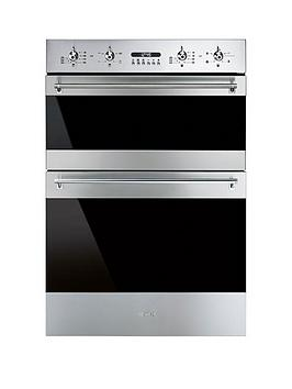Smeg Dosf634X 60Cm BuiltIn Classic Multifunction Double Oven