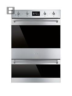 smeg-dosp6390x-60cm-built-in-classic-multi-function-double-oven