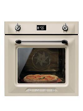 smeg-sf6922ppze-victoria-60cm-built-in-single-electric-oven-cream
