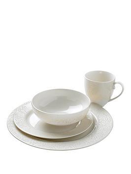 monsoon-denby-lucille-gold-16-piece-dinner-set