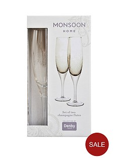 monsoon-denby-lucille-gold-champagne-flutes