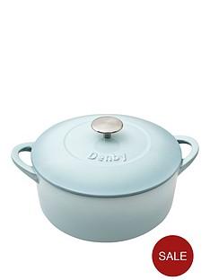 denby-pavilion-26cm-cast-iron-round-casserole-dish