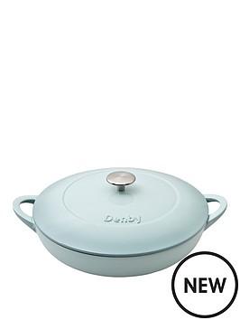denby-denby-pavilion-cast-iron-30cm-shallow-casserole