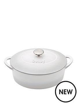 denby-denby-natural-canvas-cast-iron-28cm-oval-casserole