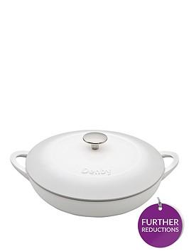denby-natural-canvas-30cm-cast-iron-shallow-casserole-dish