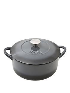 denby-halo-24cm-cast-iron-round-casserole-pot