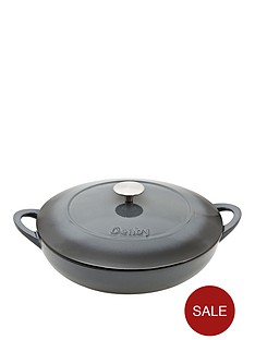 denby-halo-30cm-cast-iron-shallow-casserole-pot