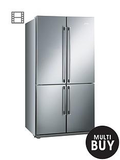 smeg-fq60xp-american-style-4-door-no-frost-fridge-freezer-stainless-steel