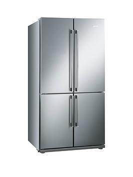 Smeg Fq60Xp American Style 4Door No Frost Fridge Freezer  Stainless Steel