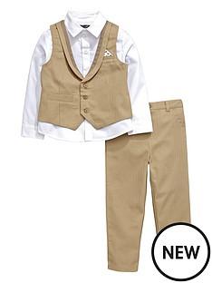 mini-v-by-very-boys-herringbone-shirt-waistcoat-and-trousers-set-3-piece