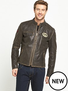 joe-browns-badged-leather-jacket