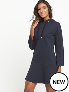 warehouse-hoody-dress-dark-navy