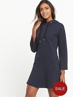 warehouse-hoody-dress-dark-navy