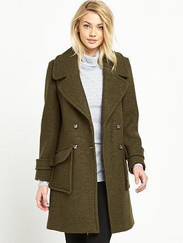 oasis-martha-military-coat-khaki