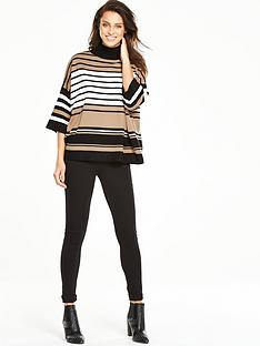 wallis-striped-boxy-jumper-stone