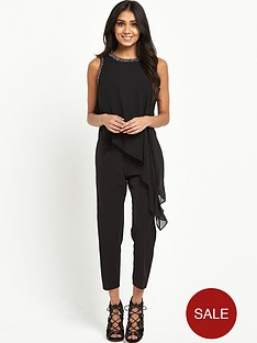 wallis-petite-embellished-asymmetric-jumpsuit-black