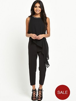 wallis-petite-embellished-asymmetric-jumpsuit-black