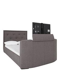 estates-fabric-lift-up-storage-tv-bed-frame-with-mattress-options-buy-and-save