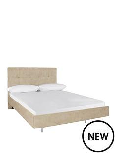 gallianbspfauxnbspleather-bed-frame