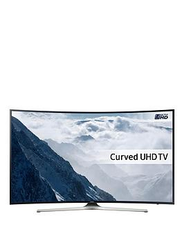 Samsung Ue40Ku6100 40 Inch 4K Ultra Hd Curved Smart Led Tv With Hdr