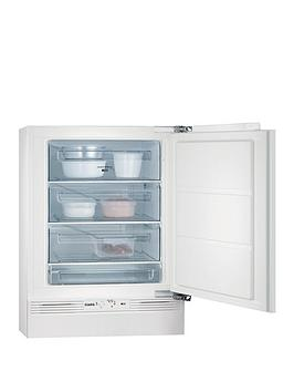Aeg Ags58200F0 60Cm Wide Integrated Under Counter Freezer  White