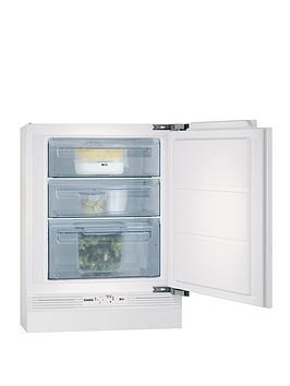 Aeg Agn58210F0 60Cm Wide Integrated Under Counter Freezer  White
