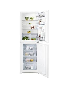 Aeg Scs51810S1 56Cm Wide Integrated Fridge Freezer  White